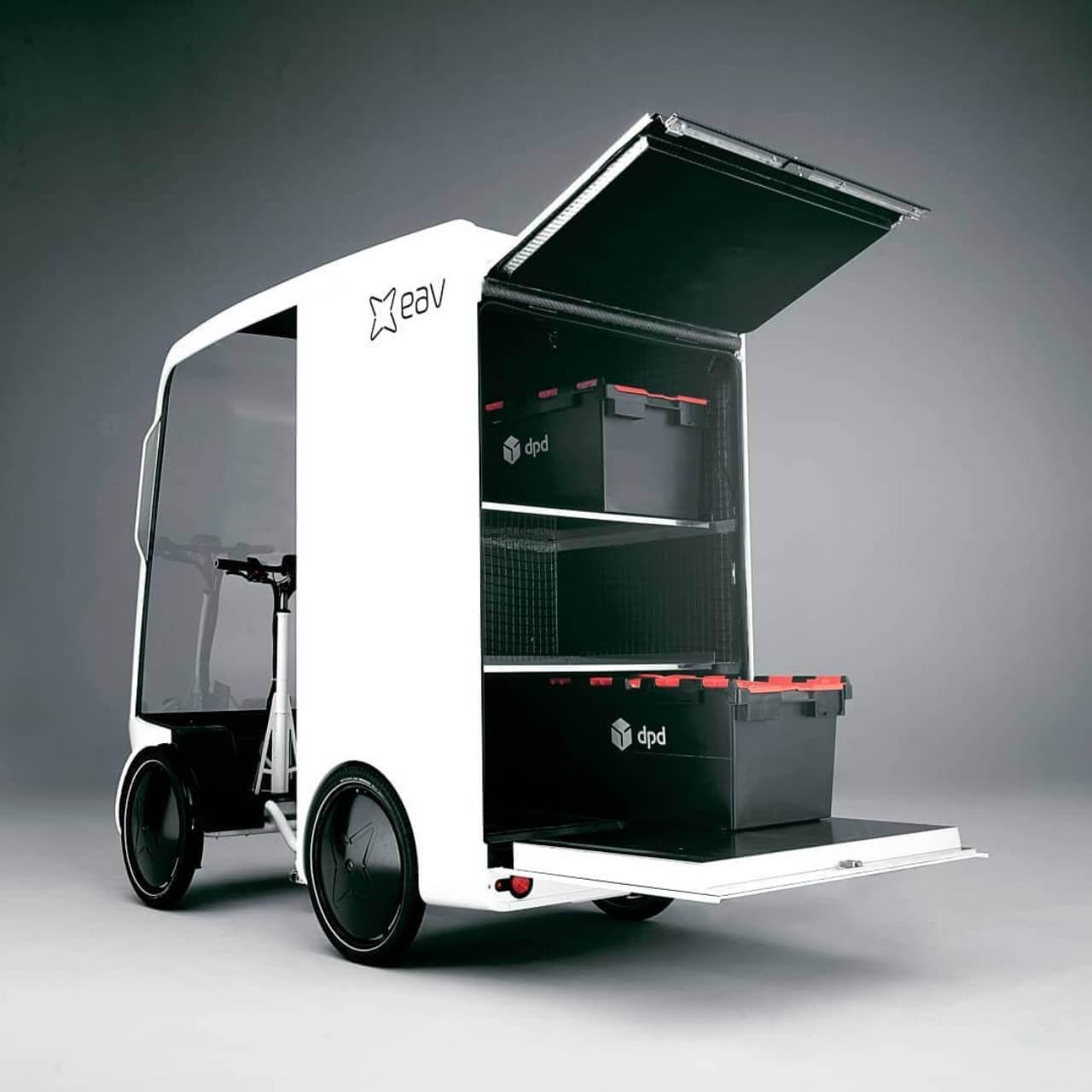 «Велосипед-фургон» сэлектрическим приводом EAVan