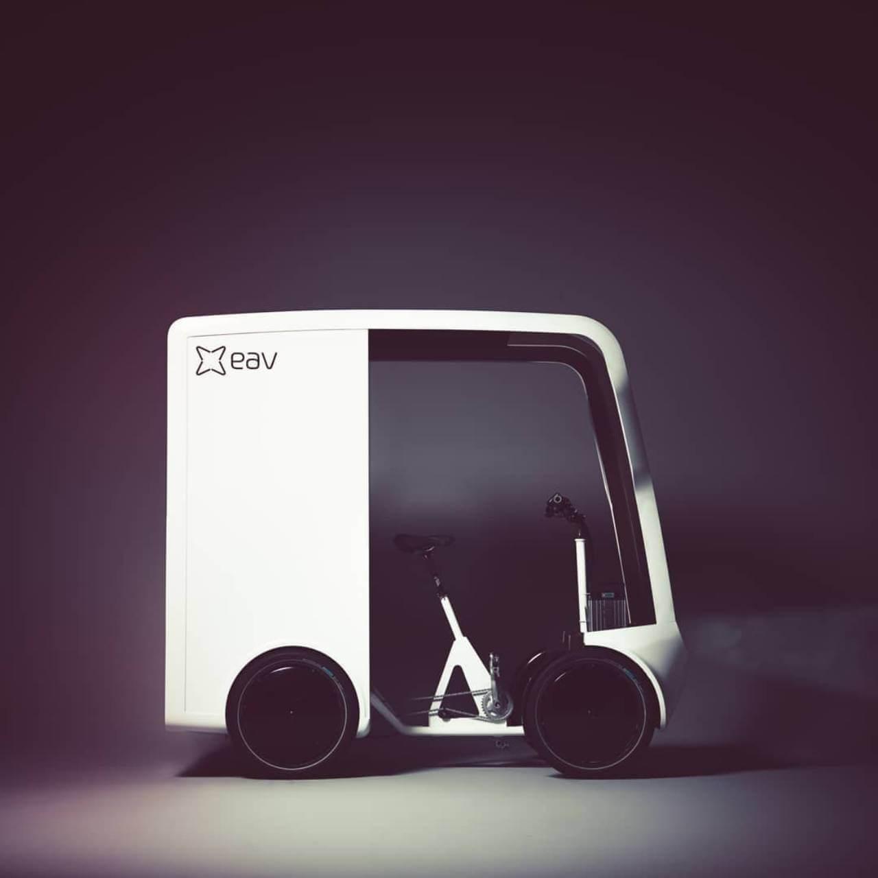 EAVan — это электрический велосипед-фургон