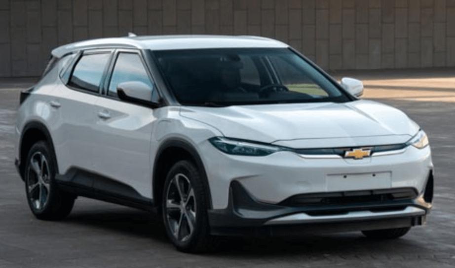 Электрический кроссовер Chevrolet Menlo для китайского рынка
