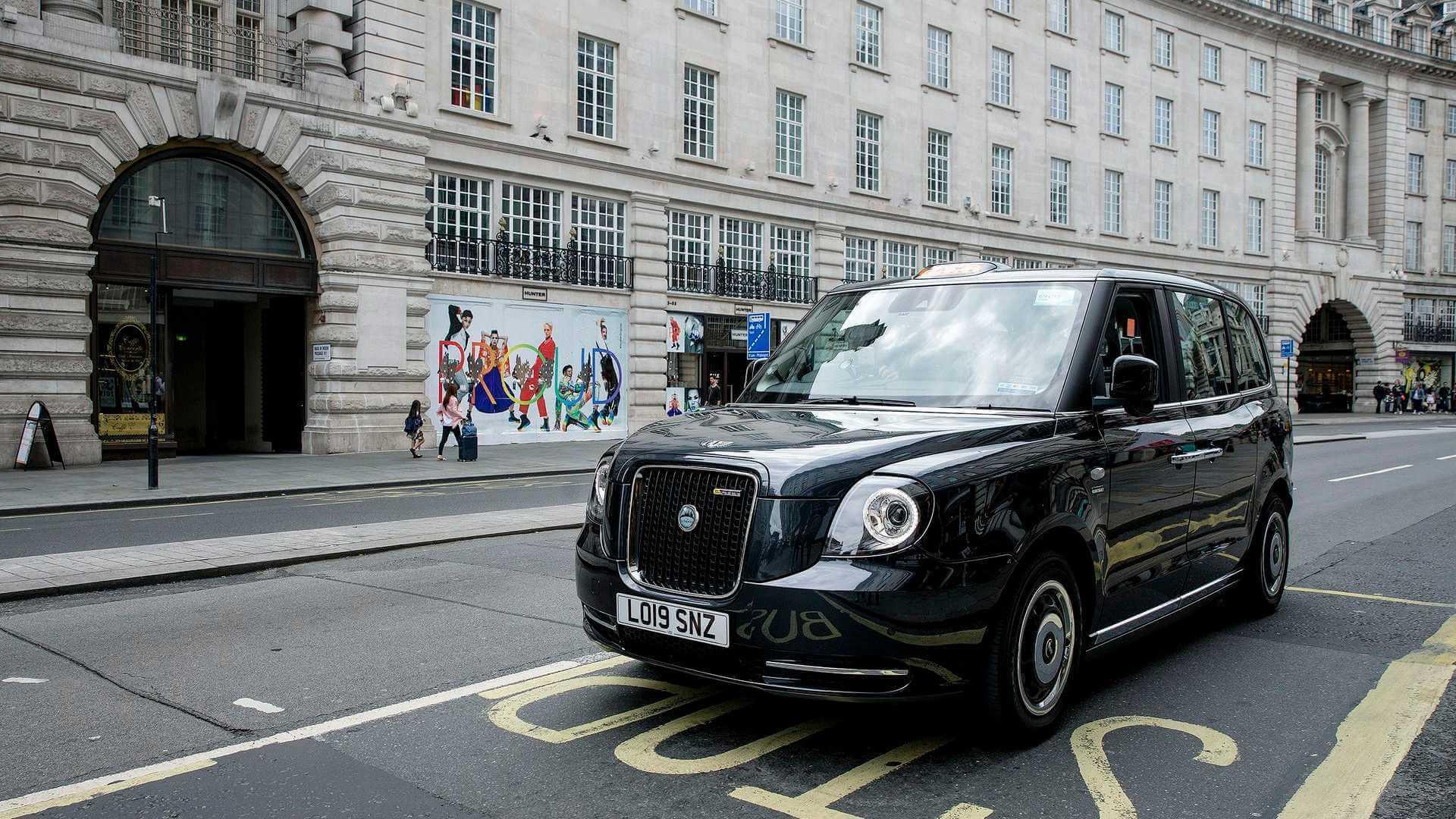 Электрифицированное такси LEVC TX