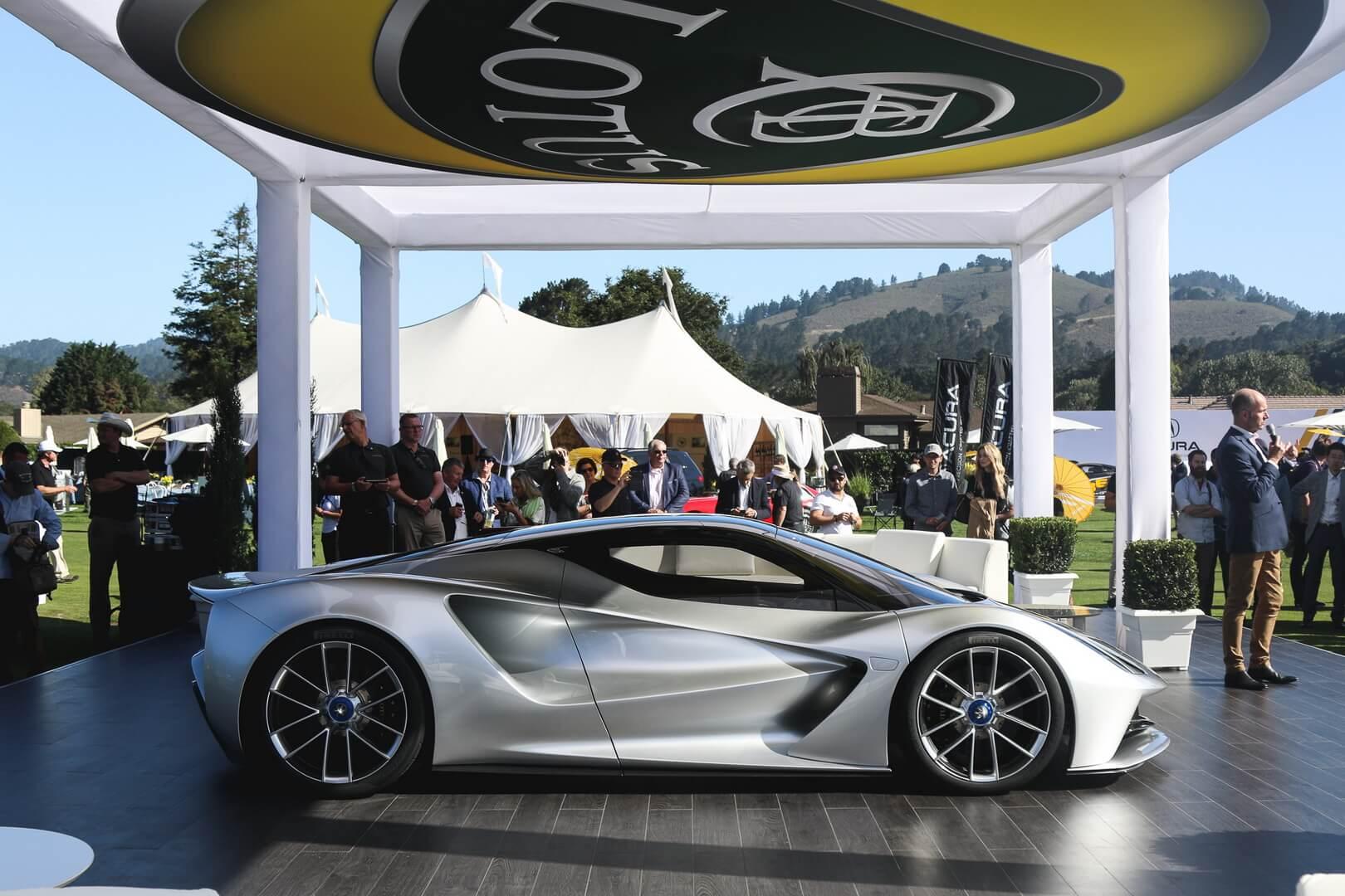 Электрический Lotus Evija стал самым мощным серийным автомобилем