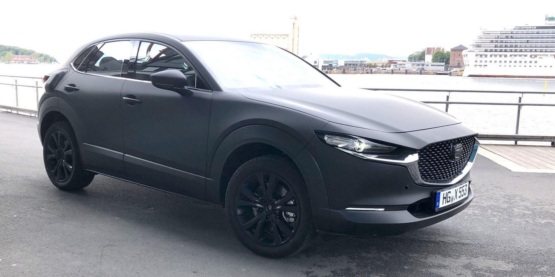 Снимок загадочной Mazda в Норвегии