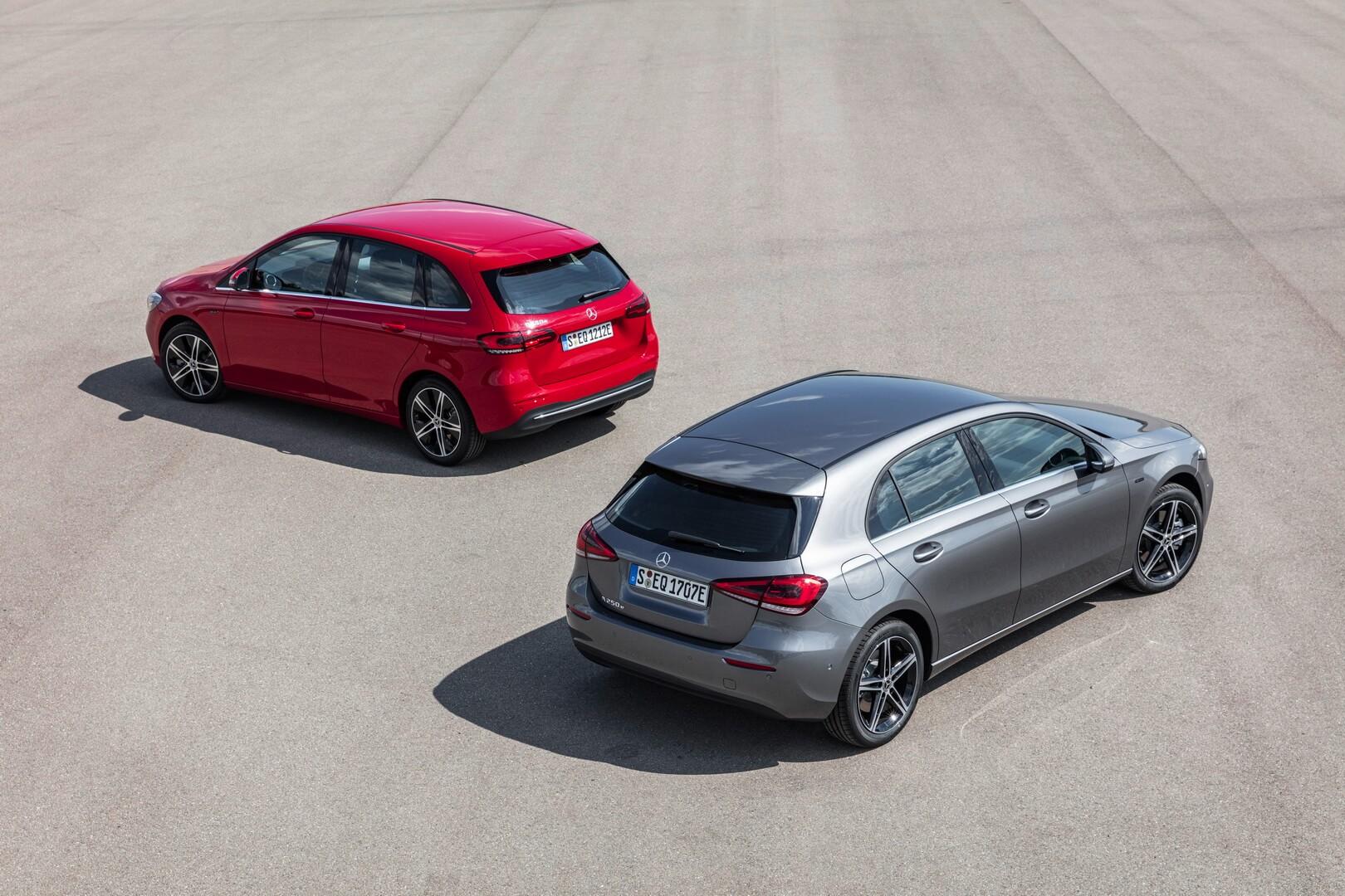Mercedes-Benz представляет плагин-гибриды A250e и B250e