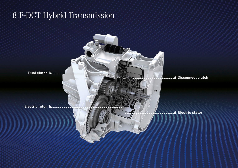 Гибридная трансмиссия плагин-гибридов Mercedes-Benz 250e A- и B-класса