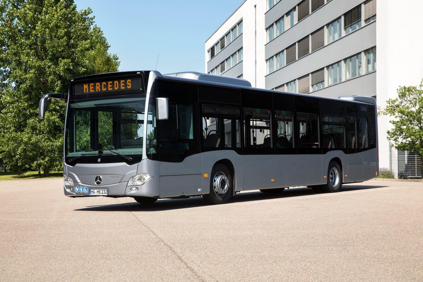 Гибридный автобус Mercedes-Benz Citaro Hybrid