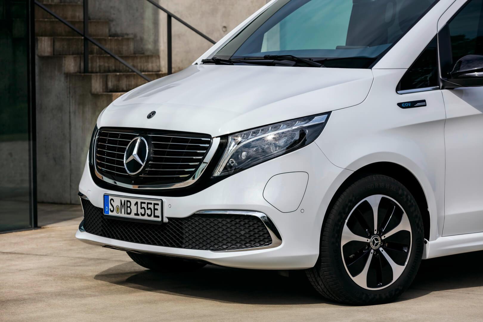 Дизайн экстерьера Mercedes-Benz EQV