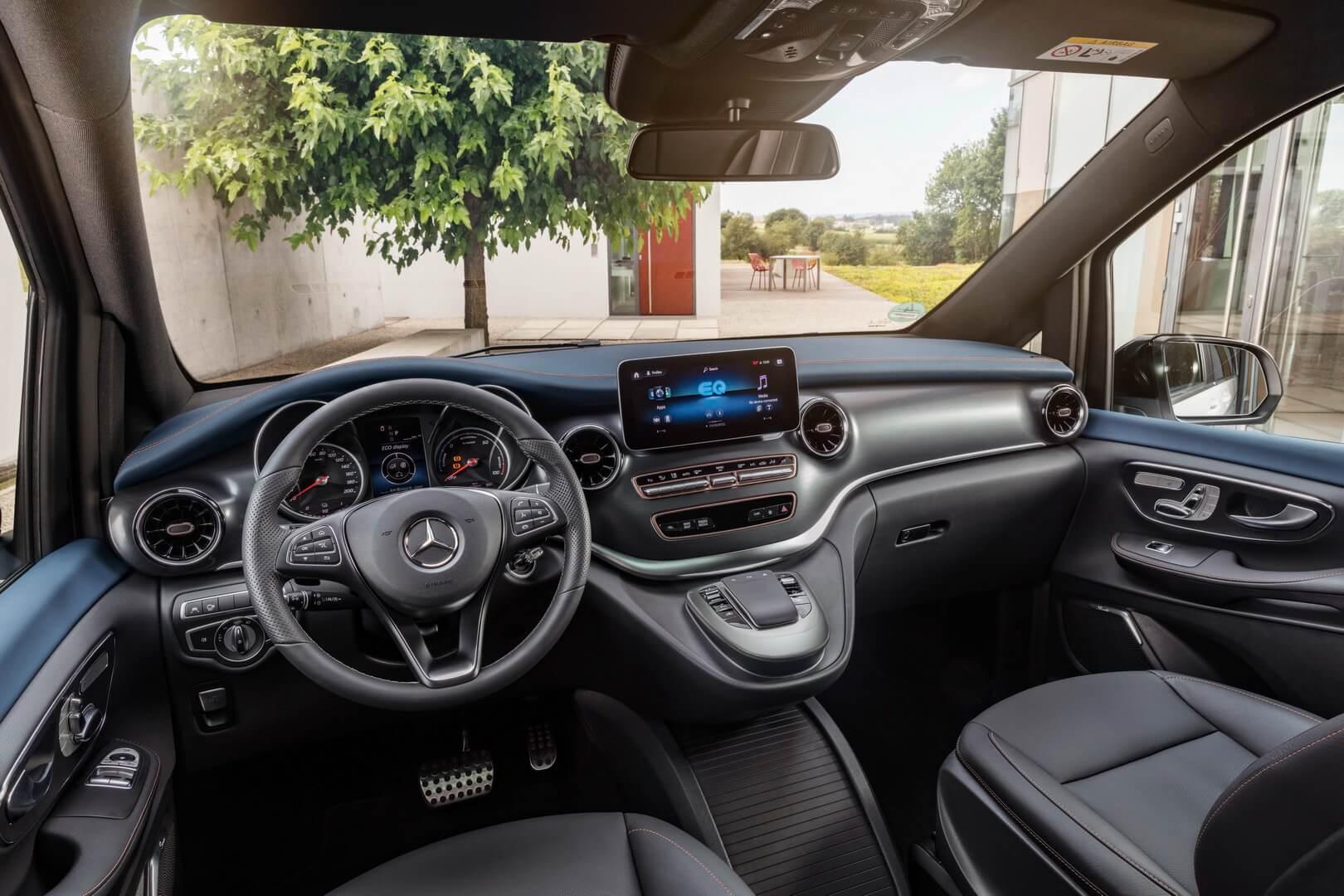 Интерьер Mercedes-Benz EQV
