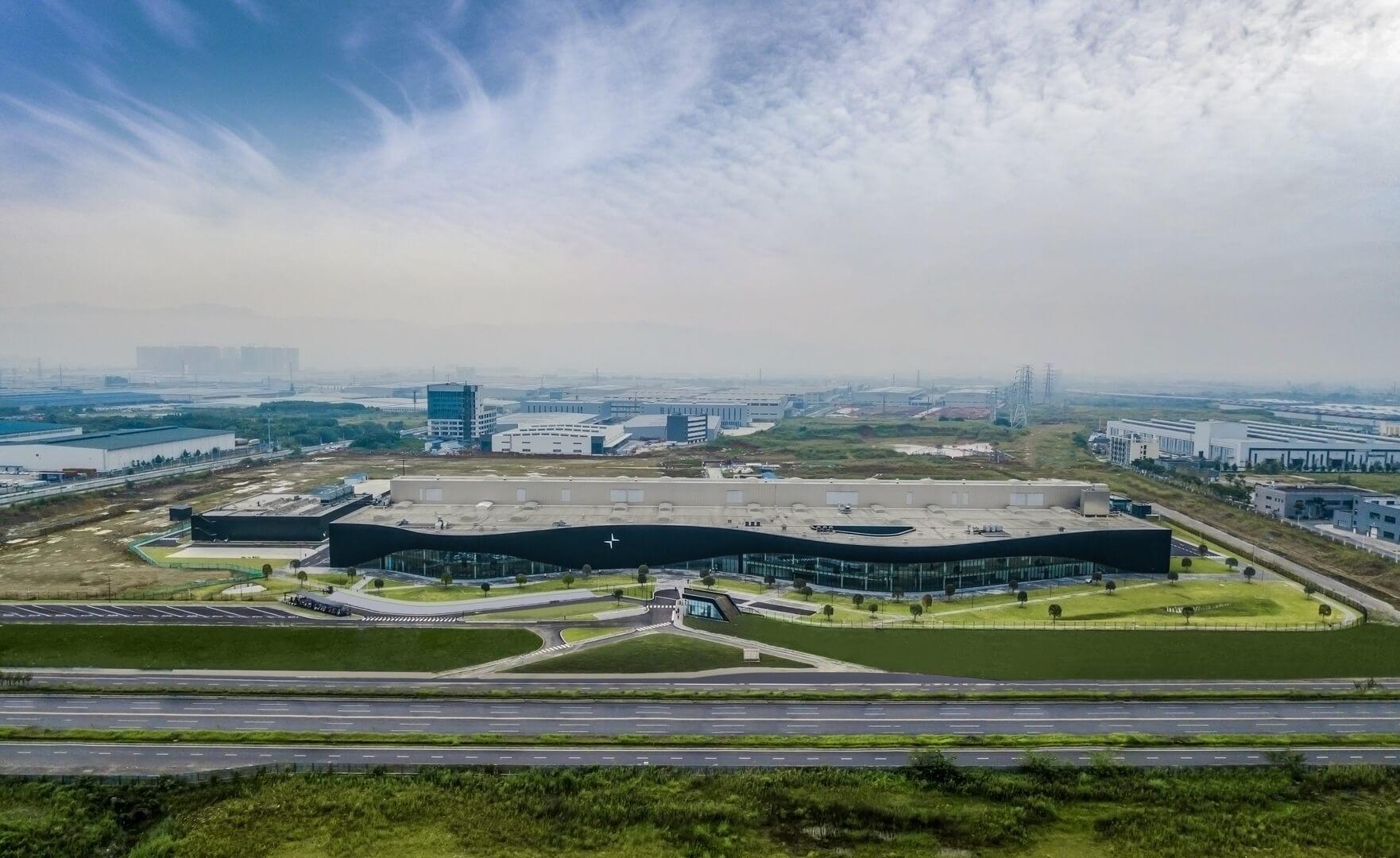 Polestar открывает первый завод в Китае
