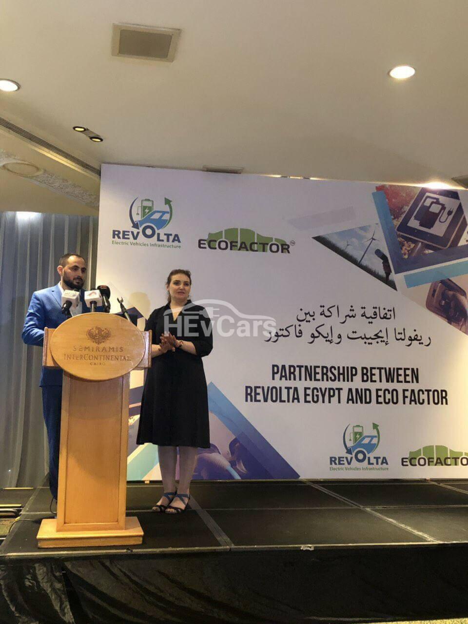 Revolta Egypt объявил о сотрудничестве с компанией EcoFactor