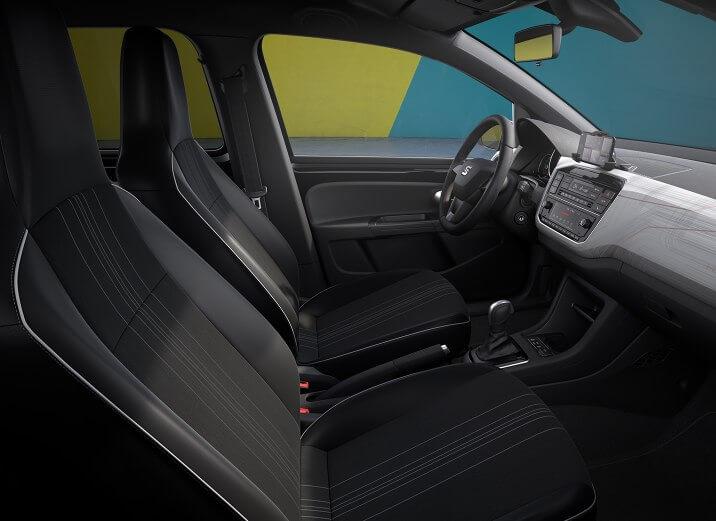 Передний ряд сидений в SEAT Mii Electric