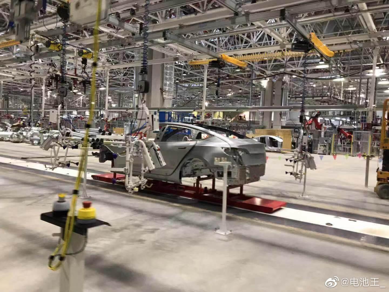 Tesla Gigafactory 3 в Шанхае