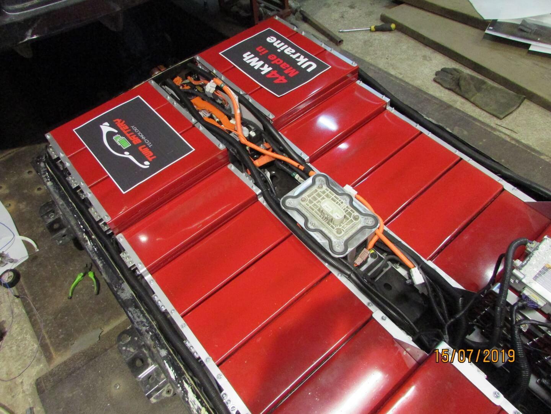 Новая батарея емкостью 44 кВт⋅ч с аккумуляторами LG Chem