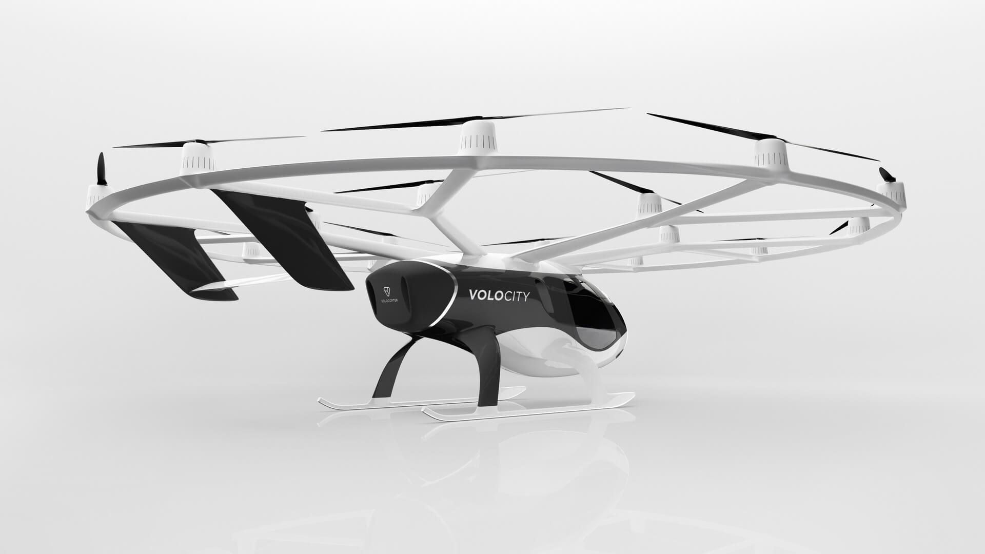 Volocopter представил дизайн будущего коммерческого воздушного такси