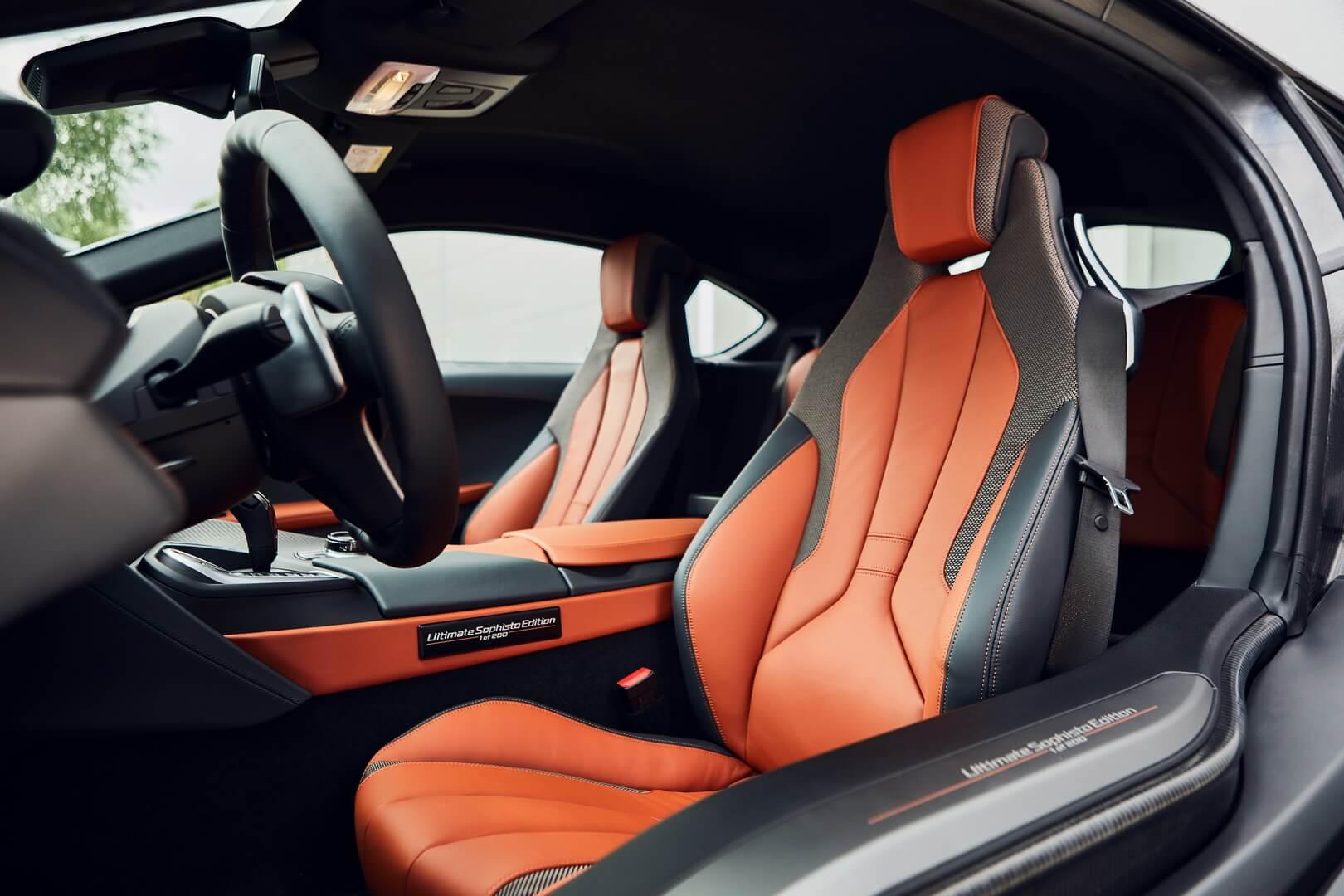 Интерьер BMW i8 Ultimate Sophisto Edition