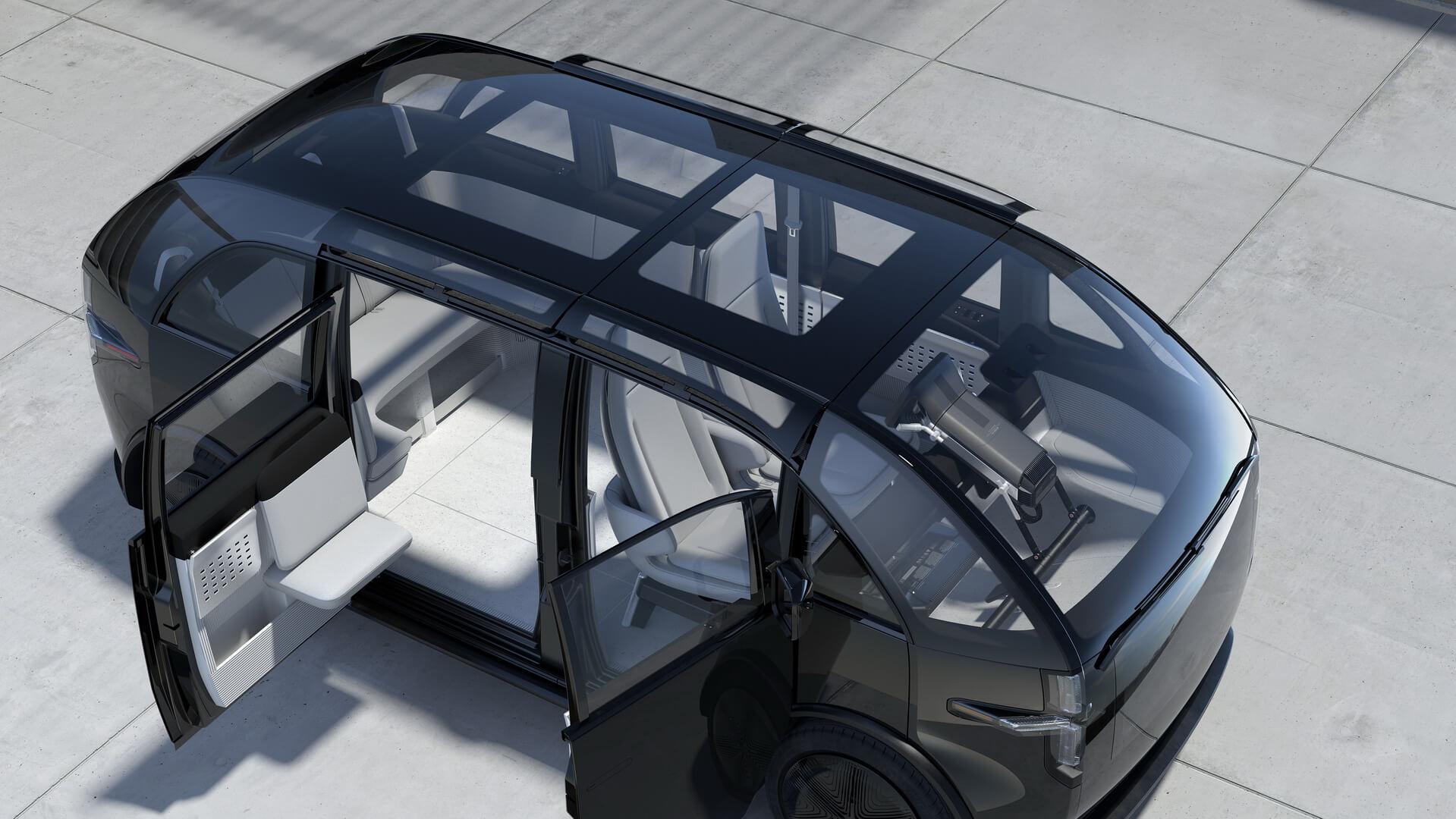 Салон электромобиля Canoo