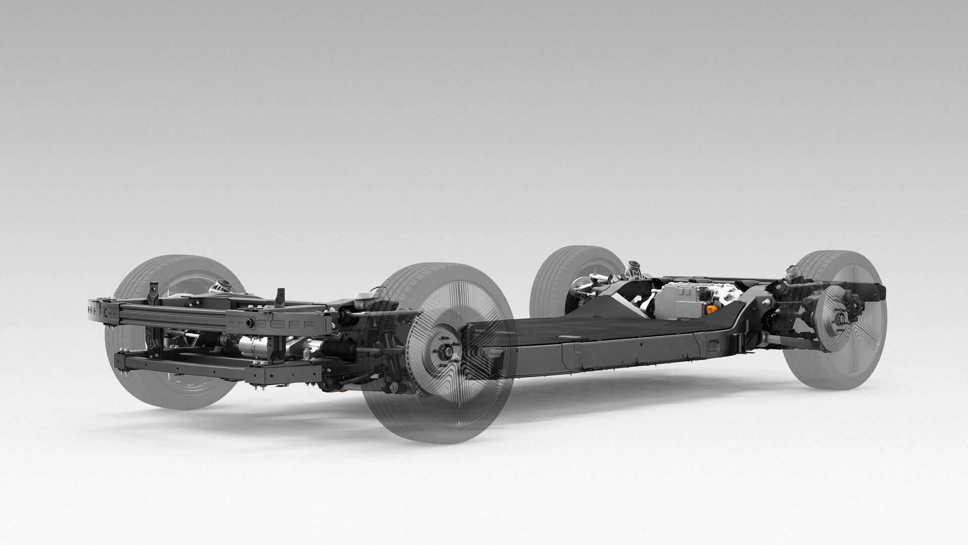 Электромобиль Canoo основан на платформе типа «скейтборд»