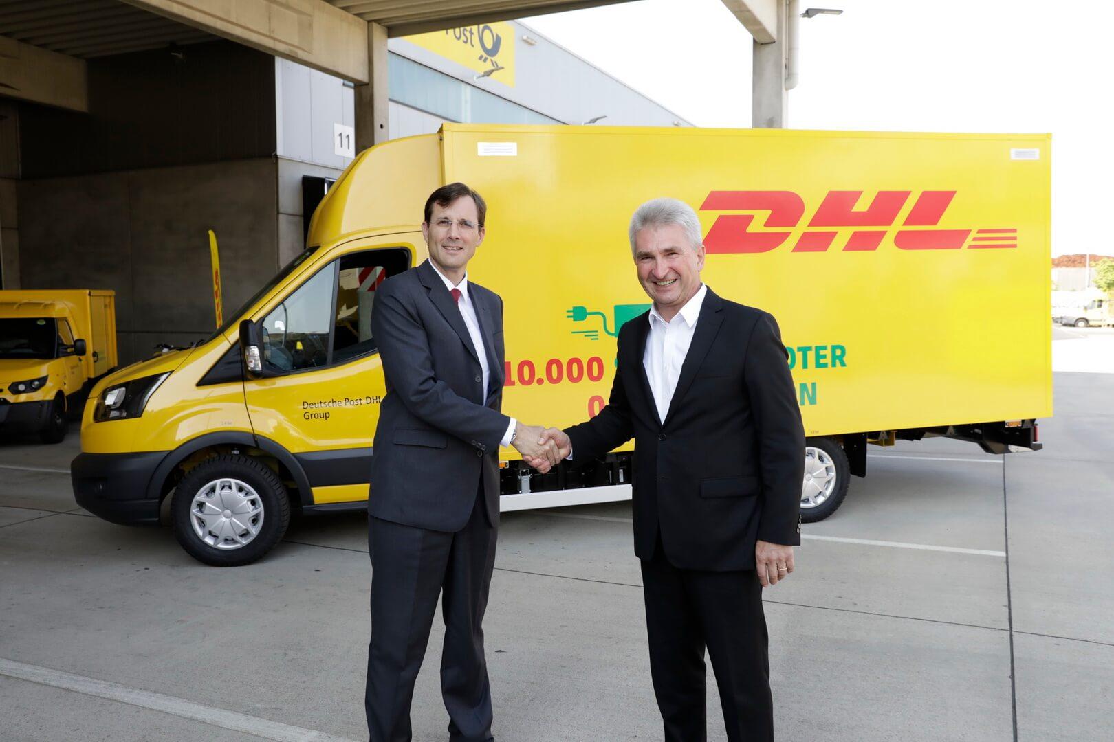 10 000-й электрофургон StreetScooter пополнил парк DHL