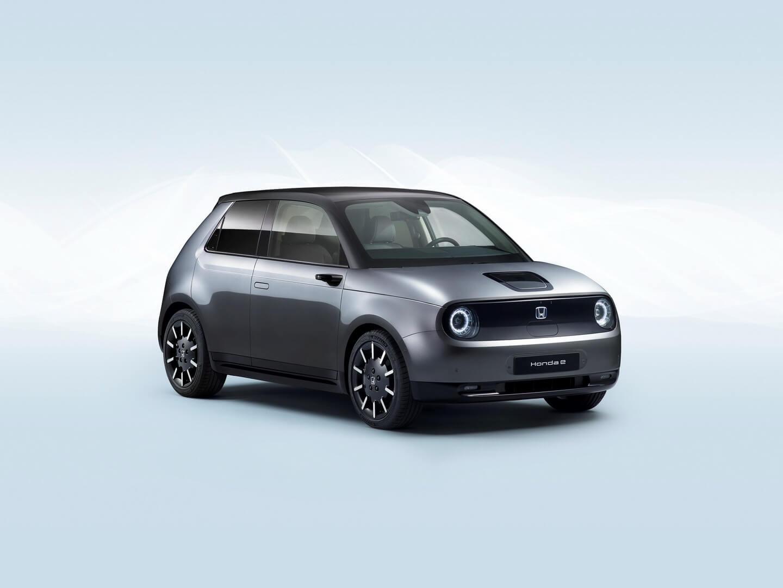 Дизайн электромобиля Honda e