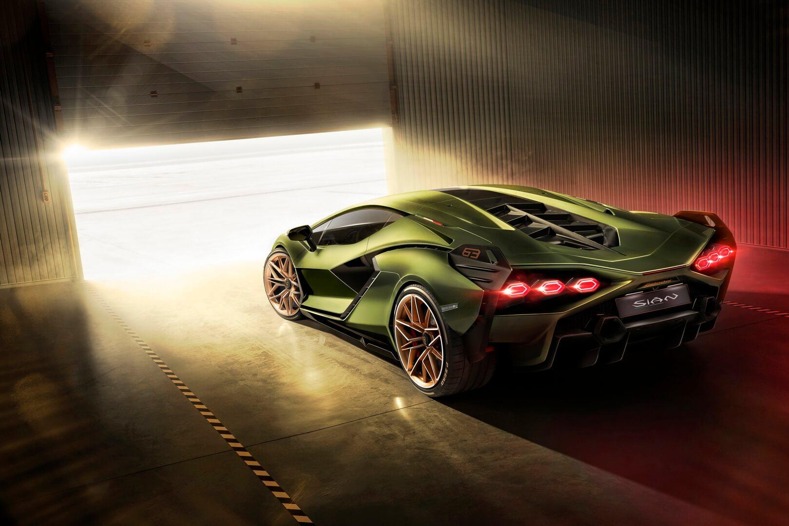 Фотография экоавто Lamborghini Sian