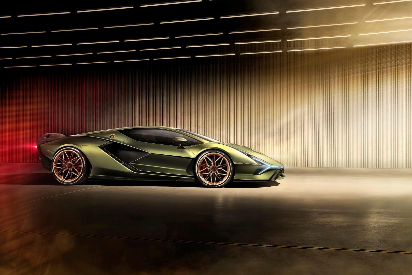 Фотография экоавто Lamborghini Sian - фото 8