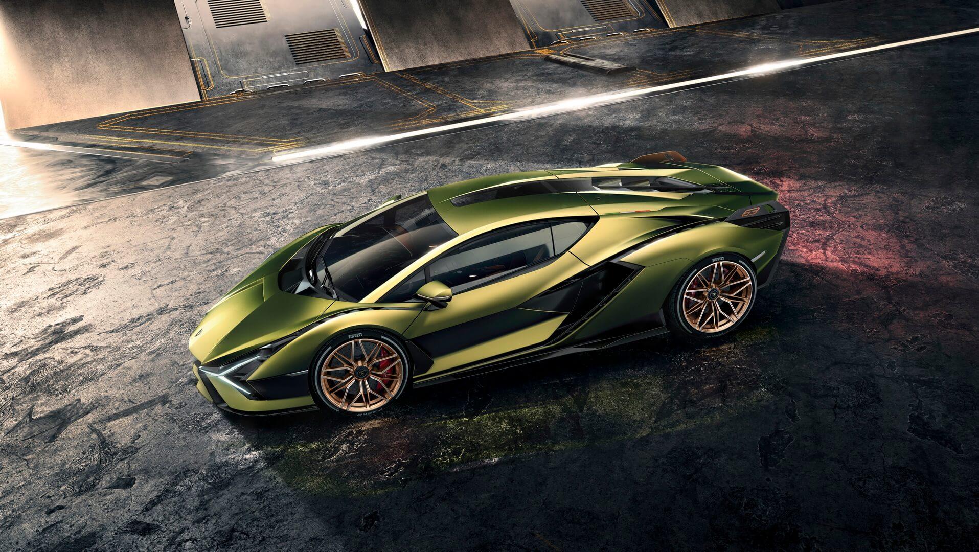Фотография экоавто Lamborghini Sian - фото 4