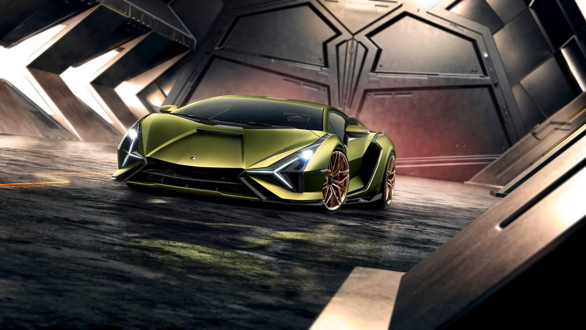 Фотография экоавто Lamborghini Sian - фото 2
