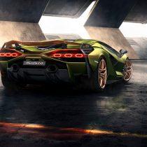 Фотография экоавто Lamborghini Sian - фото 14