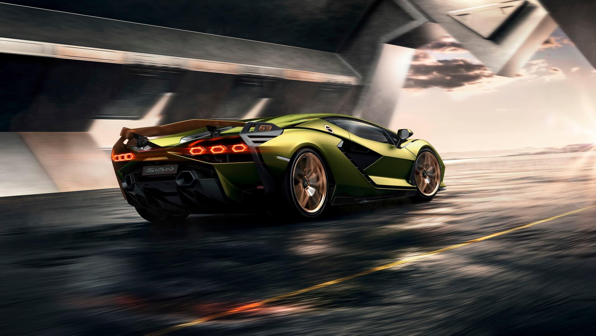 Фотография экоавто Lamborghini Sian - фото 13