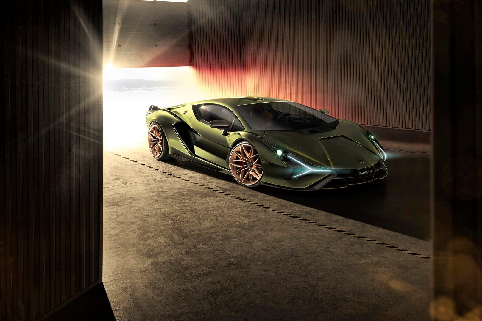 Фотография экоавто Lamborghini Sian - фото 12