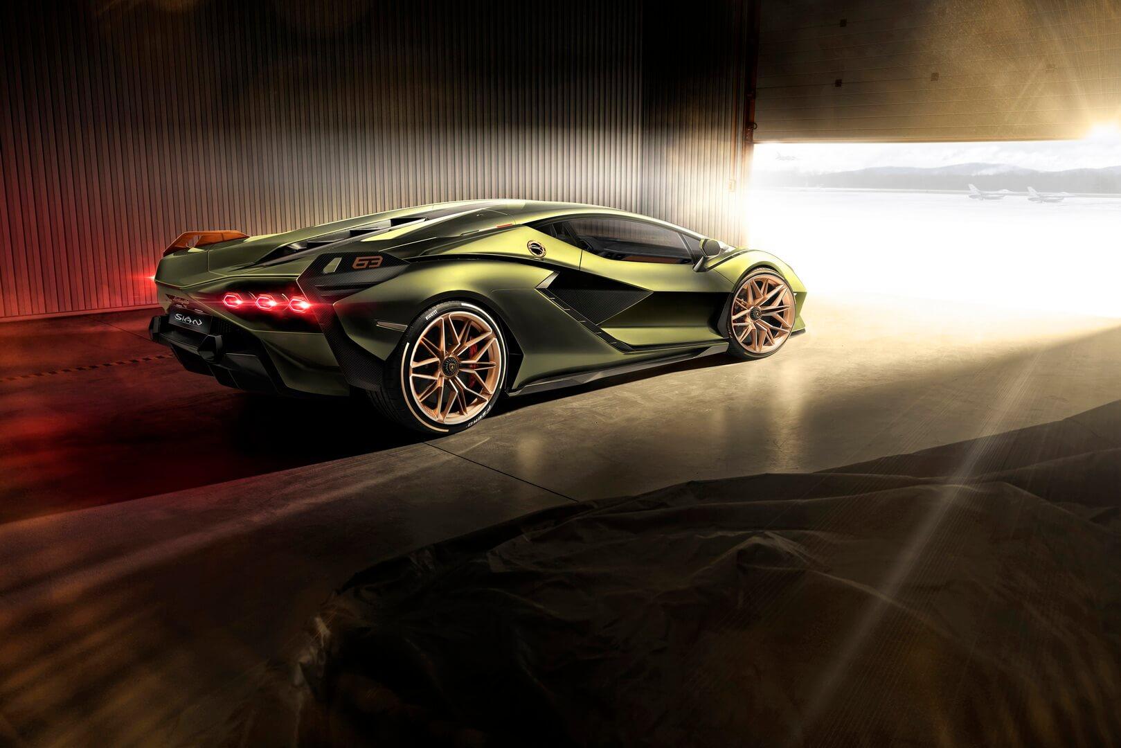 Фотография экоавто Lamborghini Sian - фото 11