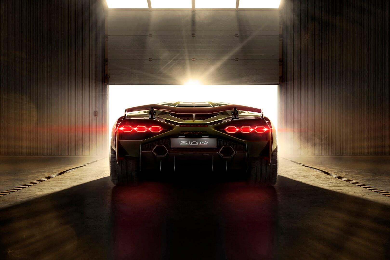 Фотография экоавто Lamborghini Sian - фото 10