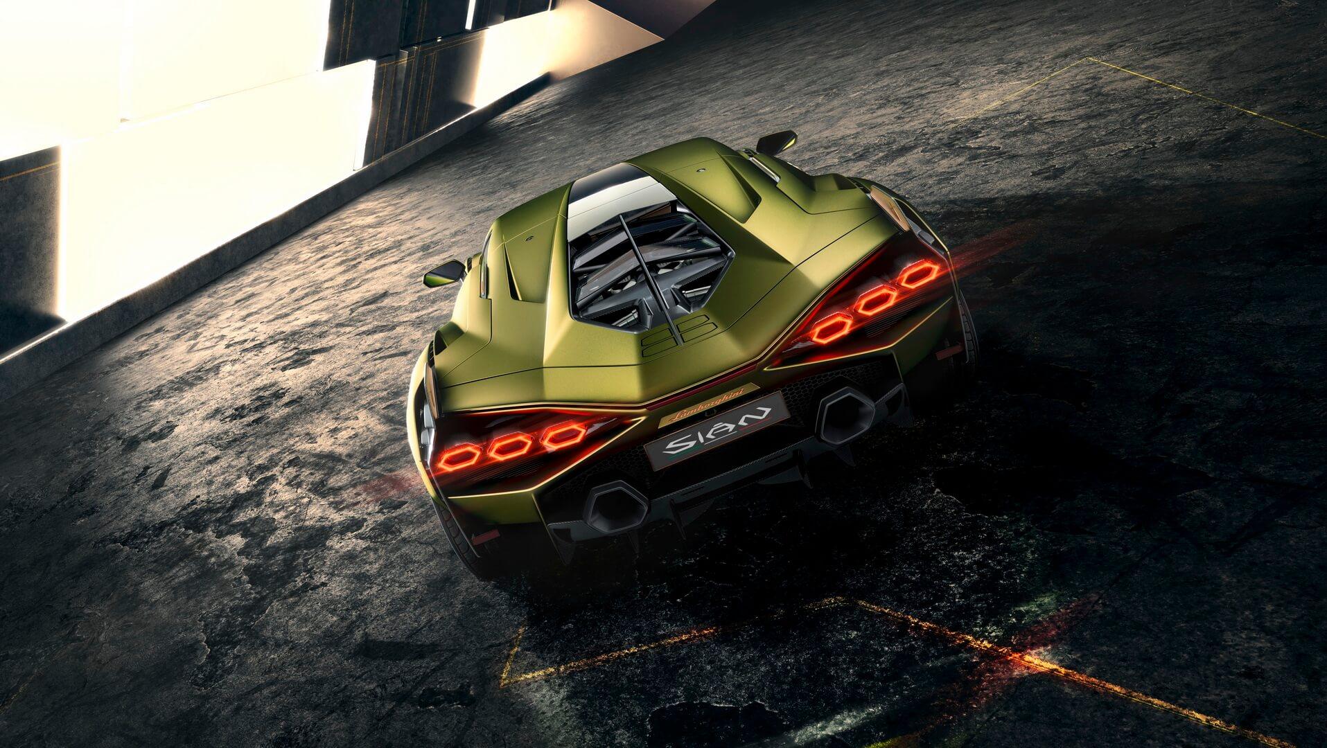 Фотография экоавто Lamborghini Sian - фото 9