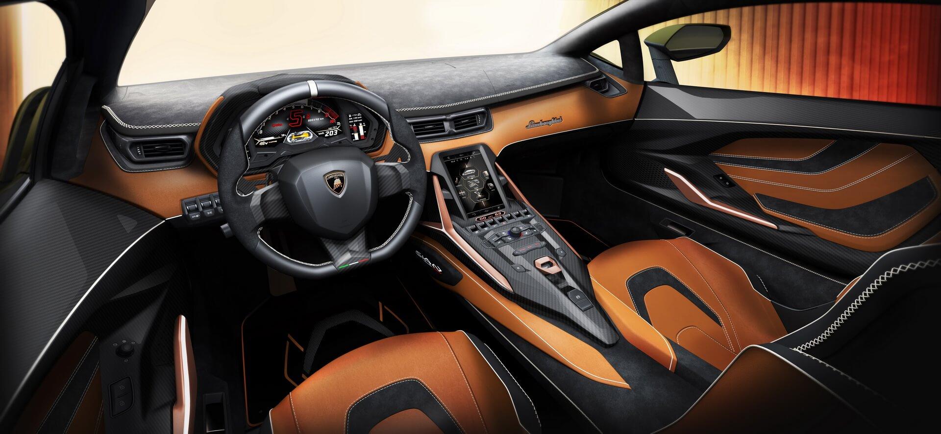 Фотография экоавто Lamborghini Sian - фото 18