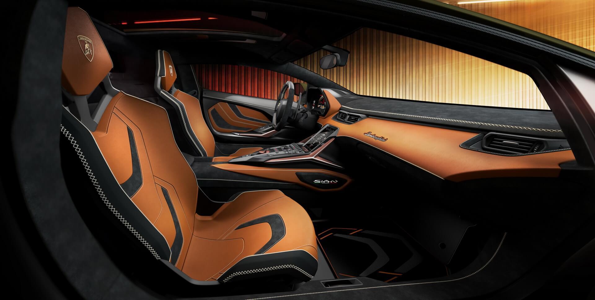Фотография экоавто Lamborghini Sian - фото 17
