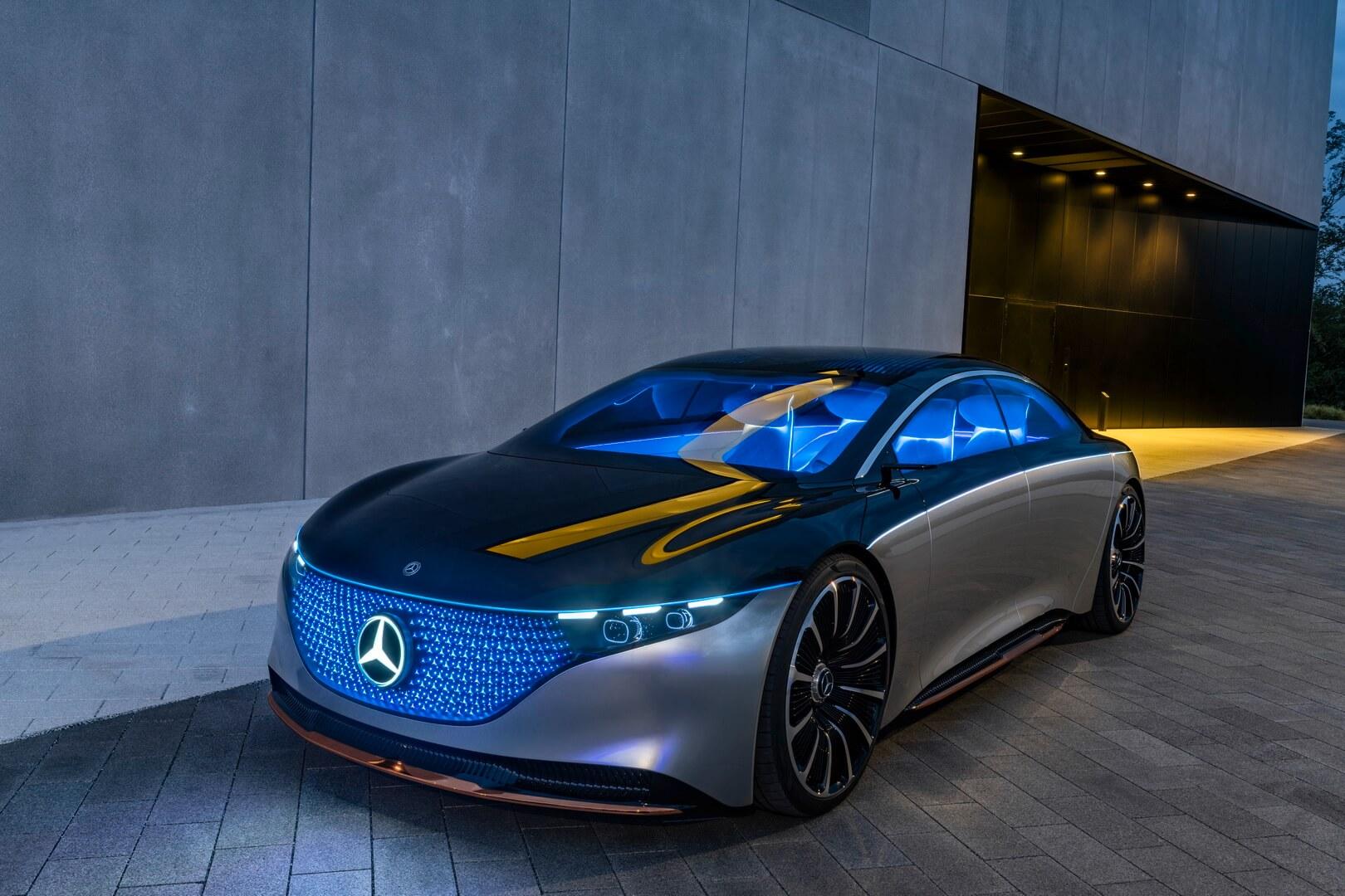 Концепт седана Mercedes-Benz VISION EQS