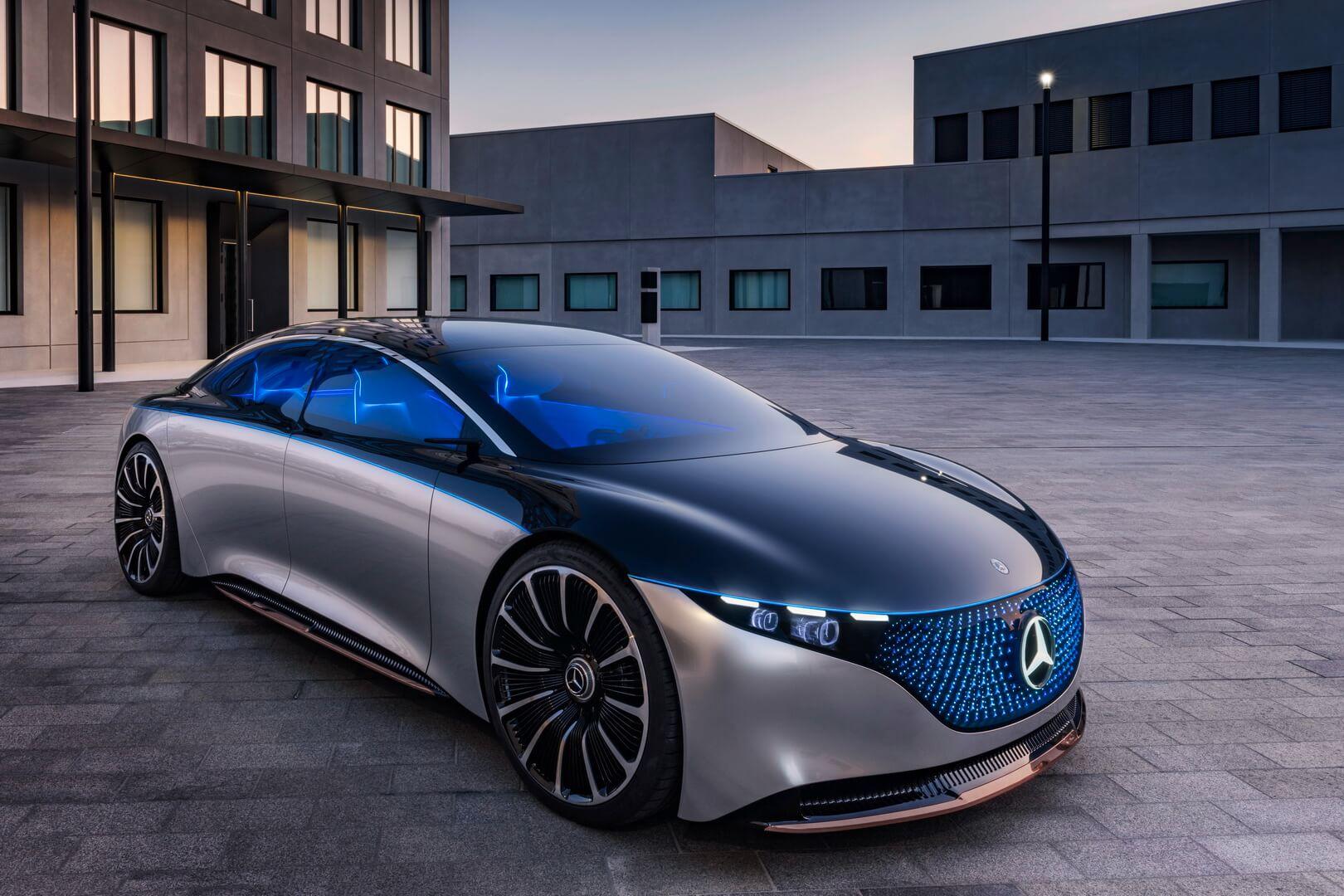 Концепт электрического седана Mercedes-Benz VISION EQS