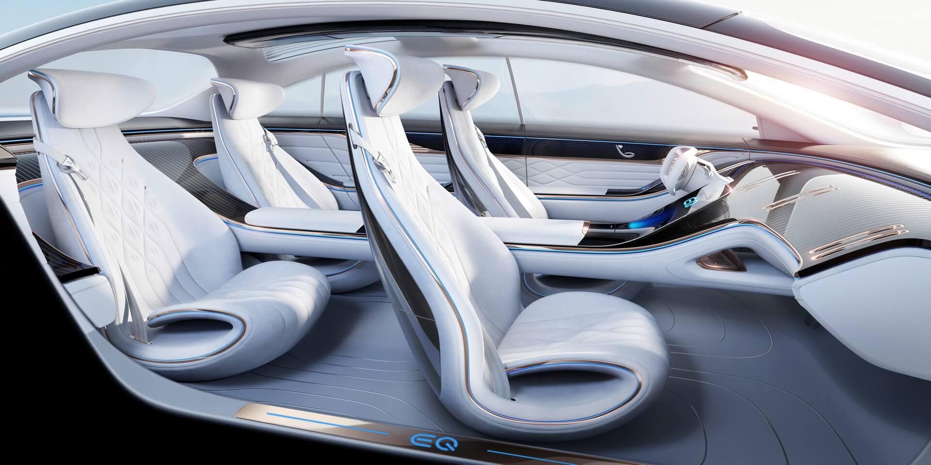 Салон Mercedes-Benz VISION EQS