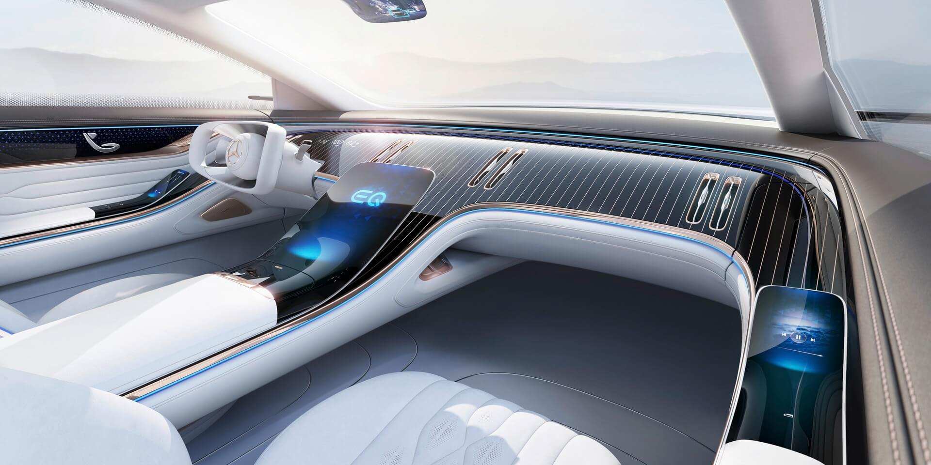 Интерьер Mercedes-Benz VISION EQS