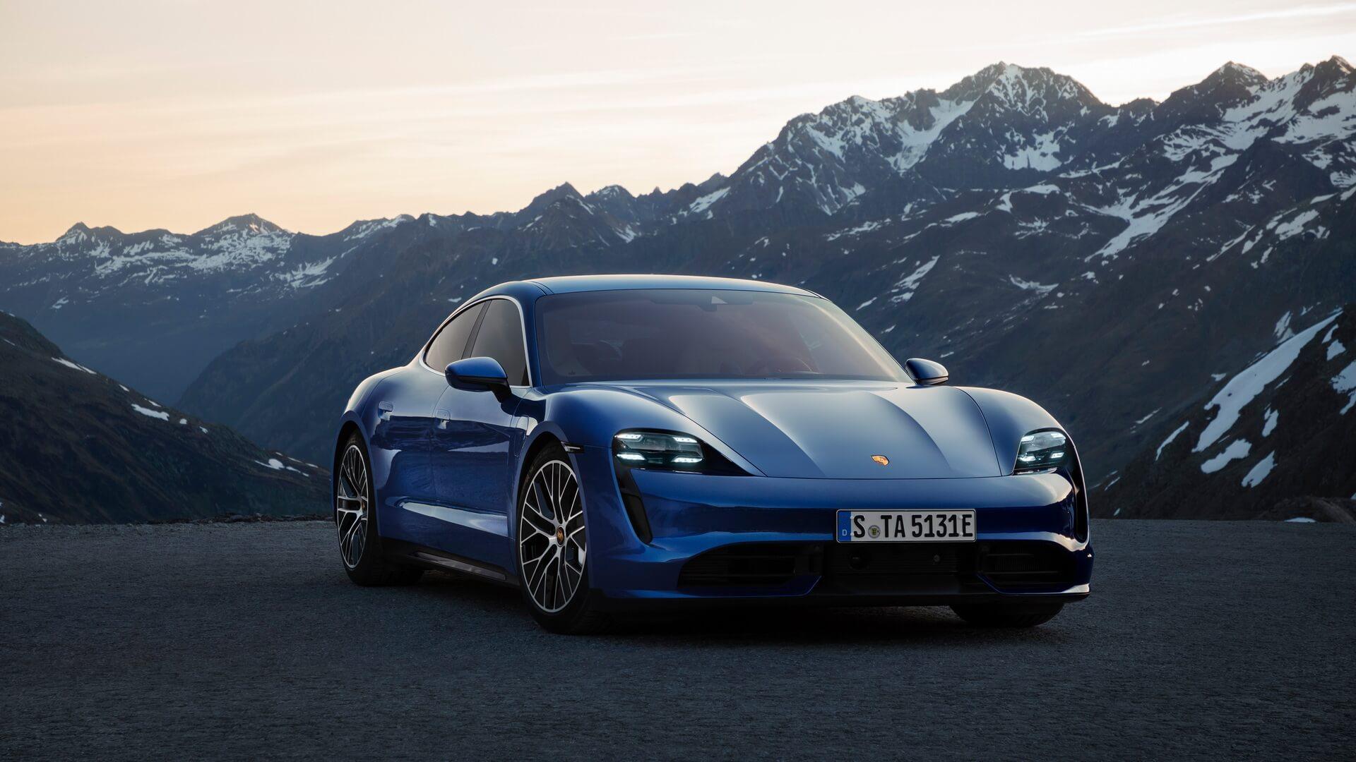 Фотография экоавто Porsche Taycan Turbo S - фото 8