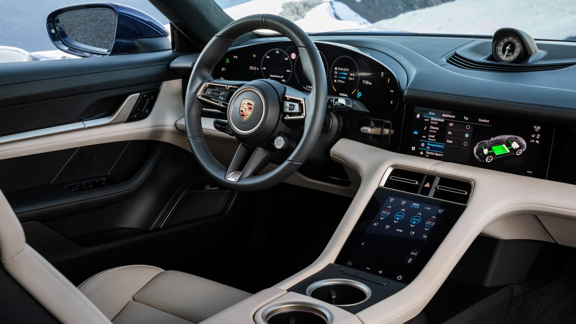 Фотография экоавто Porsche Taycan Turbo S - фото 61