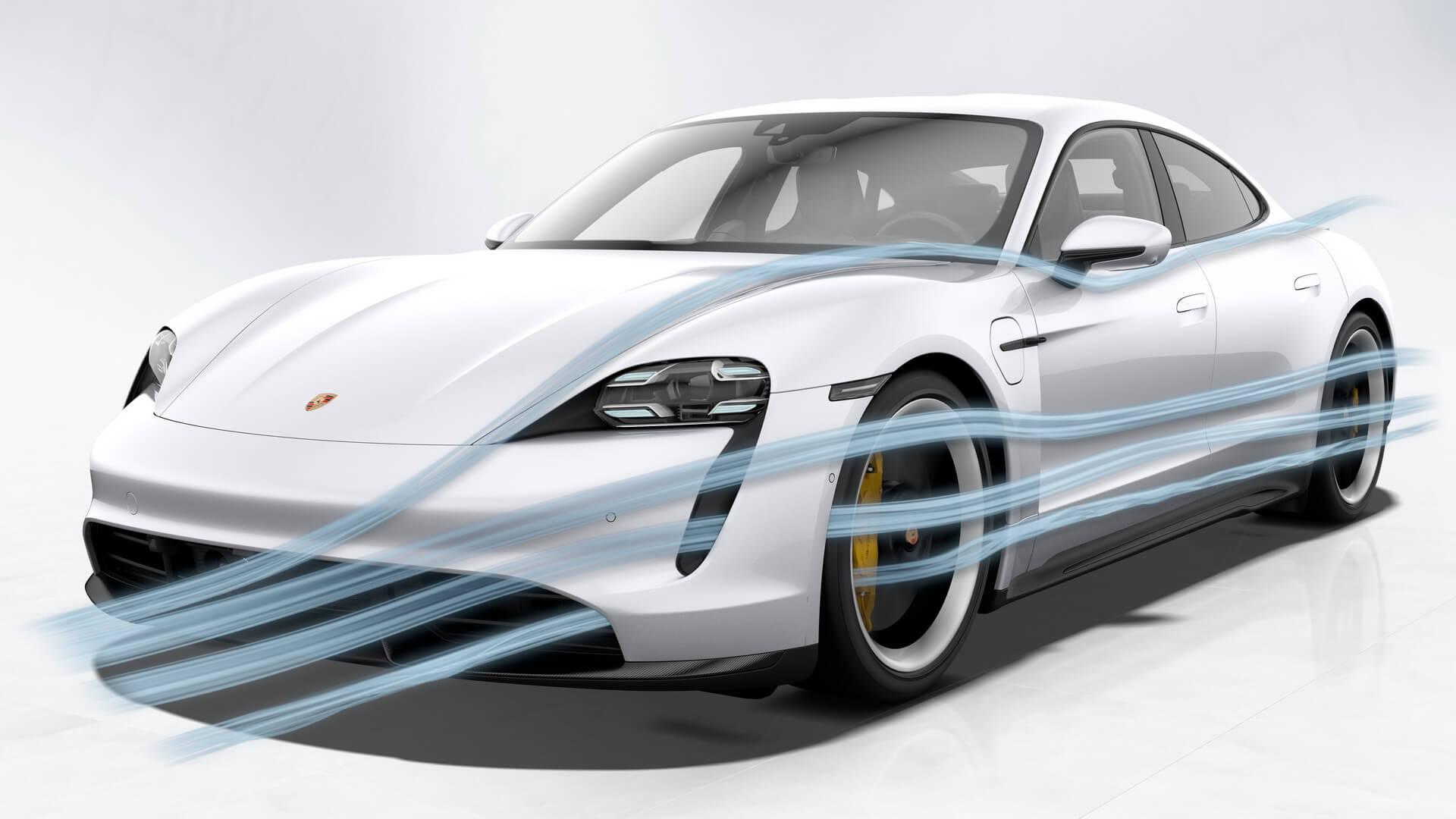 Фотография экоавто Porsche Taycan Turbo S - фото 76