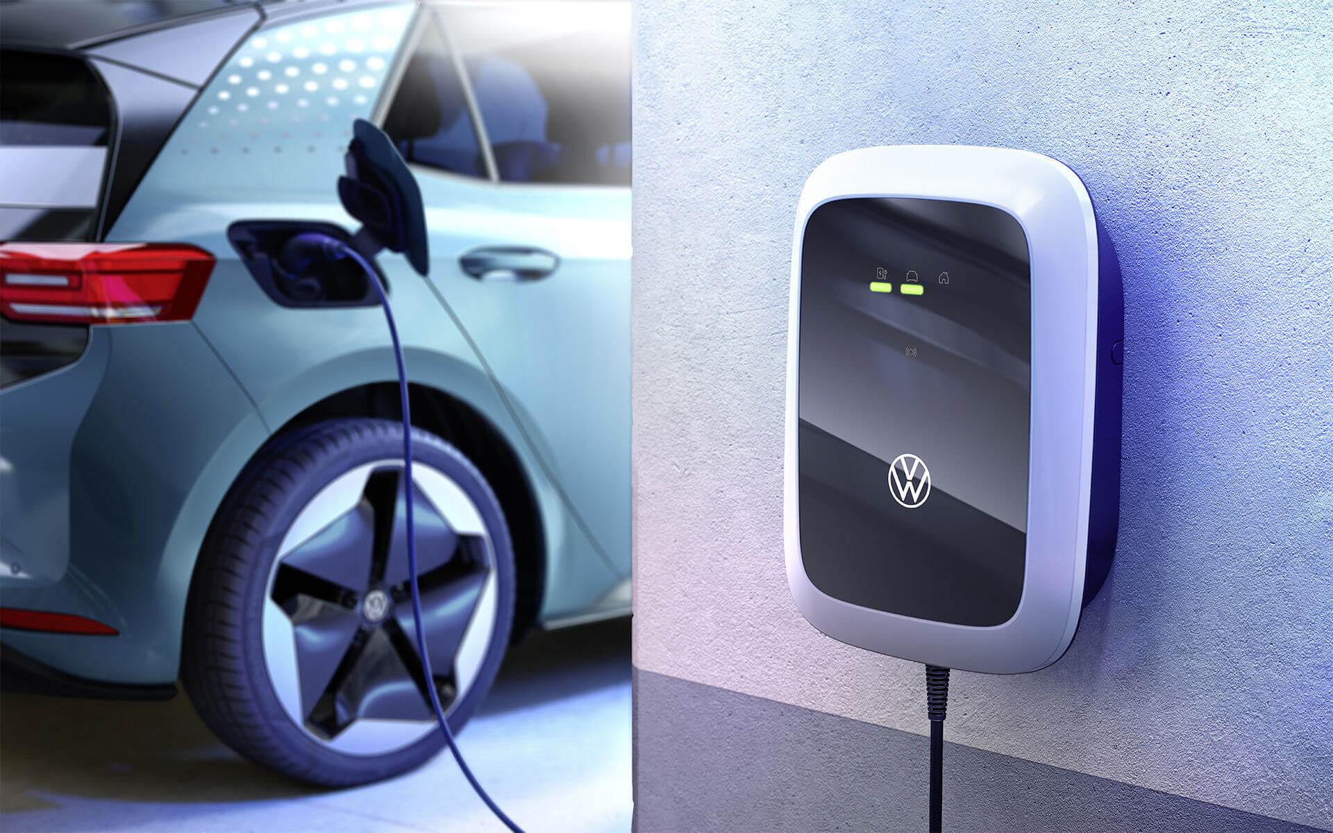 Volkswagen представляет настенную зарядную станцию ID. Charger
