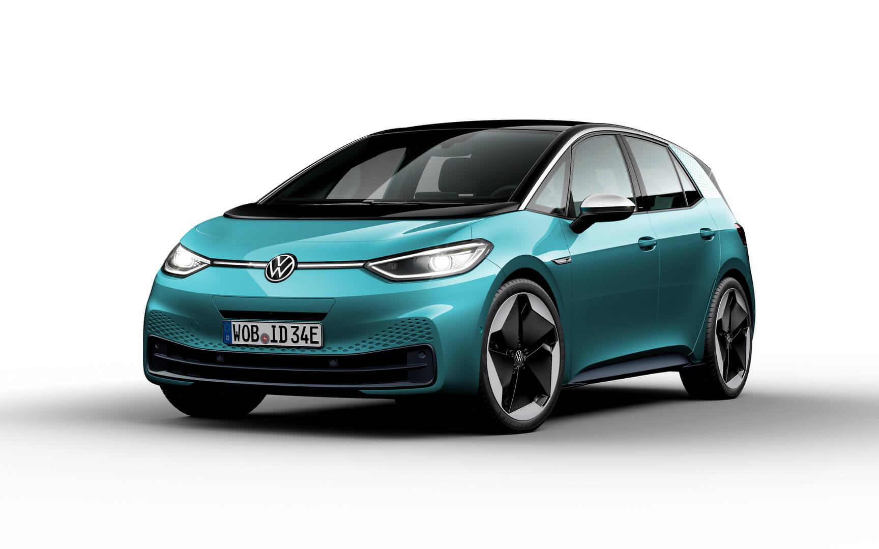 Фотография экоавто Volkswagen ID.3 1ST (Mid-Range) - фото 19