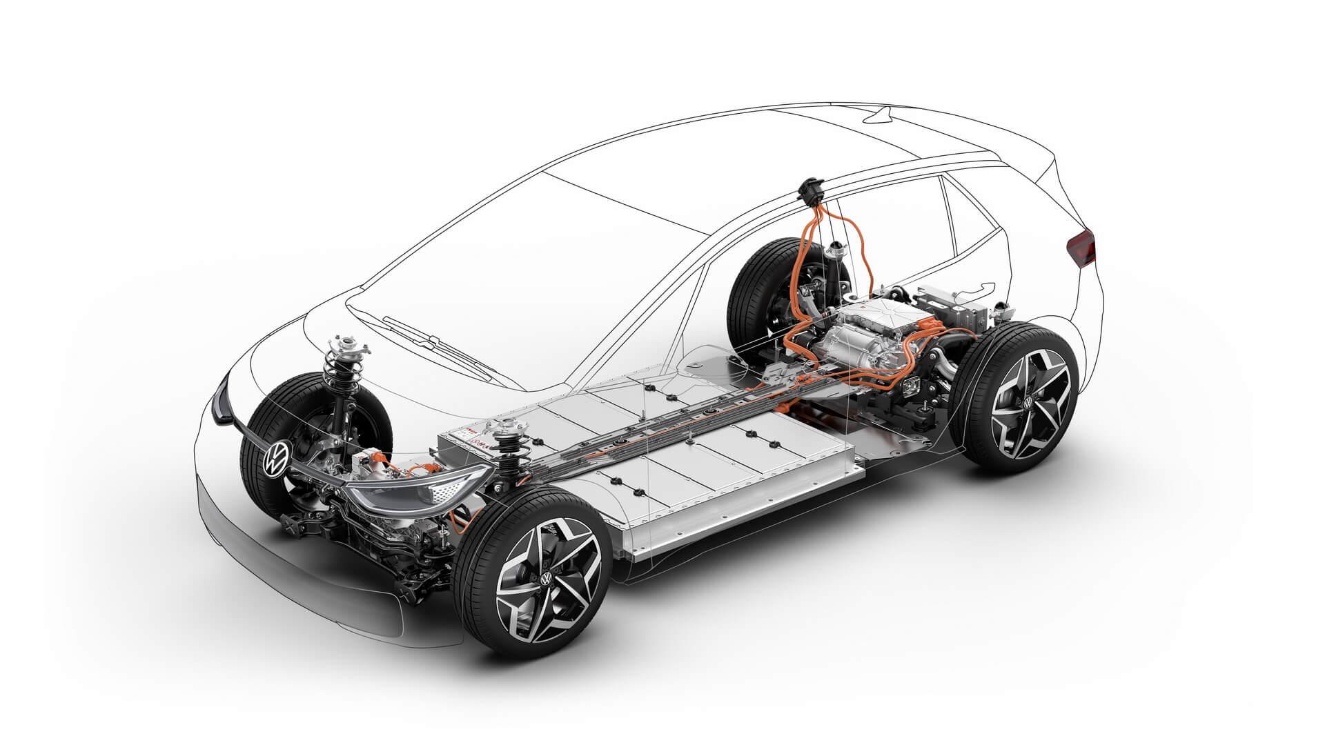 Силовая установка Volkswagen ID.3