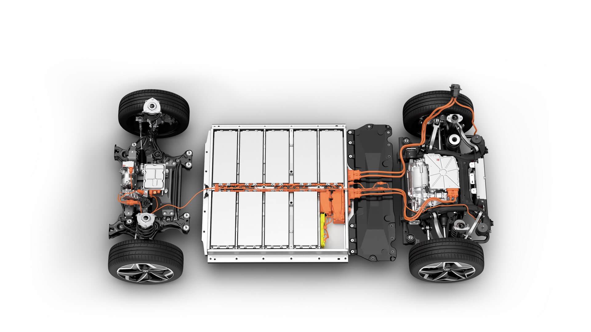 ID.3 — это первый электромобиль Volkswagen основанный на платформе MEB