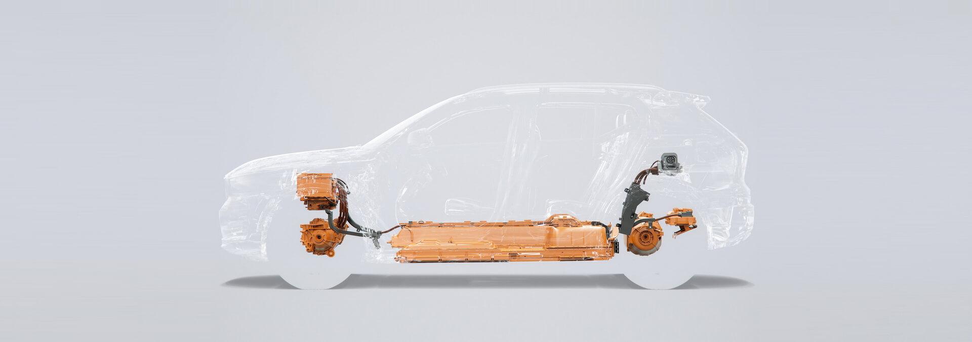 Фотография экоавто Volvo XC40 Recharge P8 AWD - фото 41