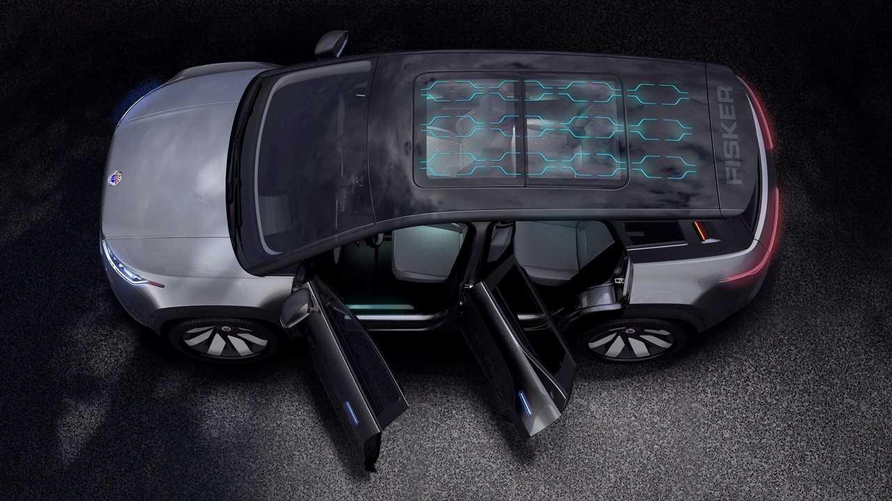 Электромобиль Fisker Ocean получит крышу с солнечными панелями