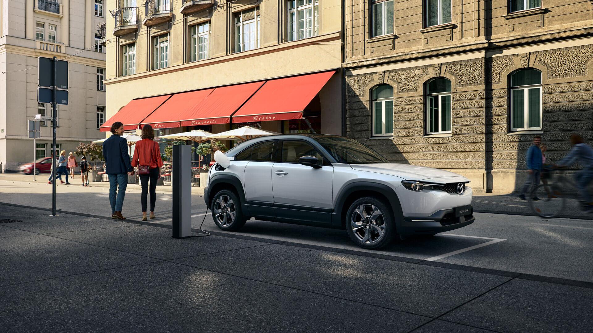 Фотография экоавто Mazda MX-30 EV - фото 14