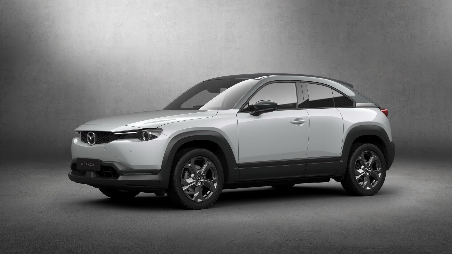 Первый электромобиль Mazda