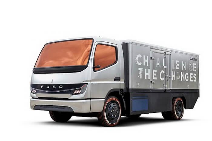 Прототип грузовика на топливных элементах FUSO «Vision F-Cell»